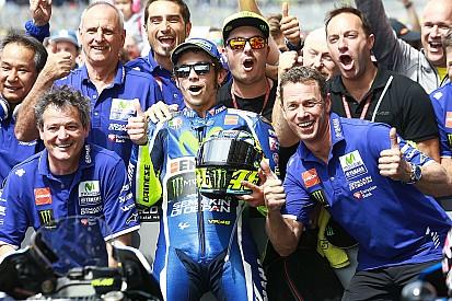Rossi partait loin, mais reste fidèle au podium du Mans