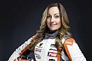 Porsche Valérie Chiasson en Coupe Porsche GT3