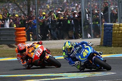 Маркес считает, что мотоцикл Honda разгоняется хуже, чем Suzuki