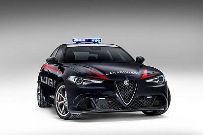 Alfa Romeo Giulia, la Quadrifoglio per i Carabinieri
