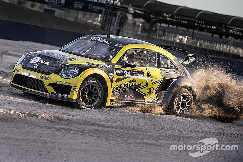Tanner Foust met Volkswagen in twee manches WK Rallycross