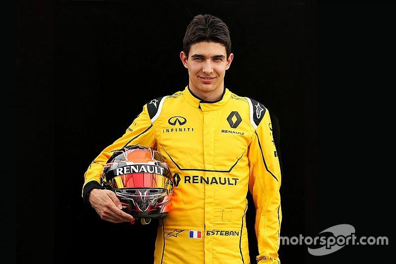 Esteban Ocon in pista nei test di Barcellona con Mercedes e Renault