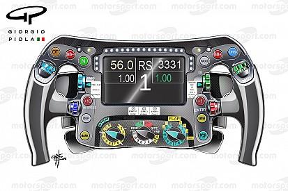 Los secretos del volante F1 de Nico Rosberg