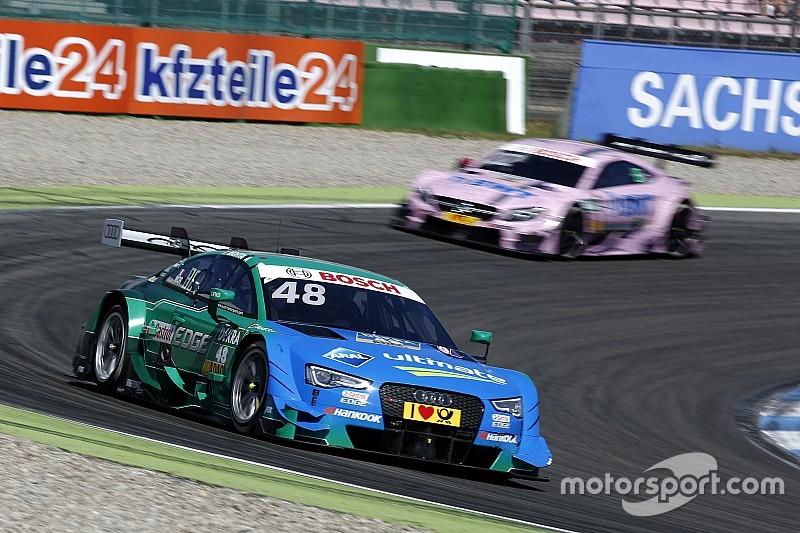 """Mortara witheet na DTM-race: """"Dit gaat slecht eindigen"""""""