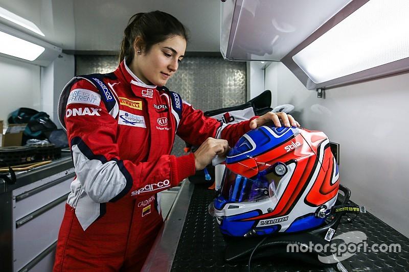 """塔蒂安娜·卡尔德隆:""""我只想和最强的车手一起比赛!不仅是女车手!"""""""