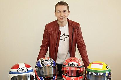 Jorge Lorenzo présente sa collection F1 et MotoGP