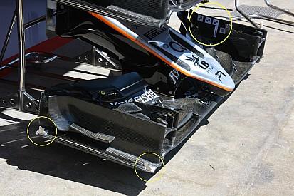 Análise técnica: melhoras no Force India VJM09