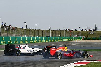 Massa - Les débuts de Verstappen chez Red Bull pourraient aider Williams