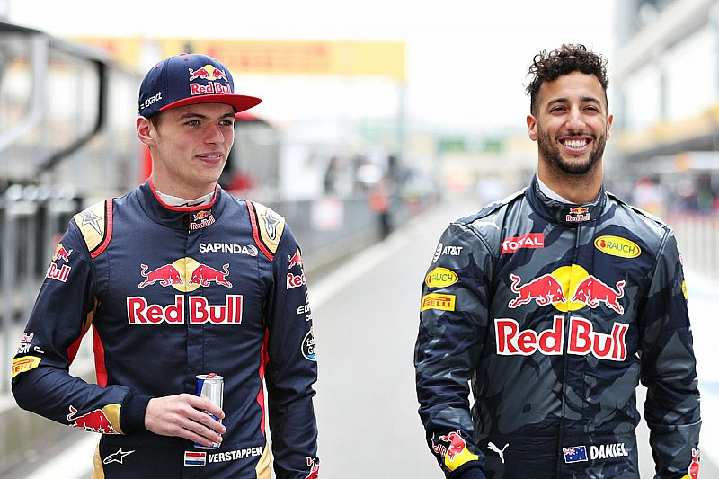 """Horner: """"Line-up met Verstappen en Ricciardo kan sterkste in F1 worden"""""""