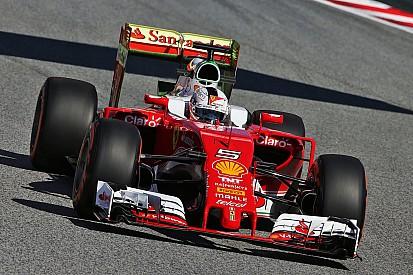 Ferrari faz dobradinha no primeiro treino na Espanha