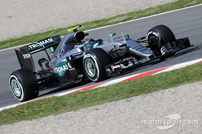 Barcellona, Libere 2: Rosberg davanti, ma la Ferrari non è lontana