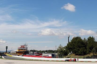 Verstappen geeft zichzelf zeven voor eerste dag bij Red Bull Racing