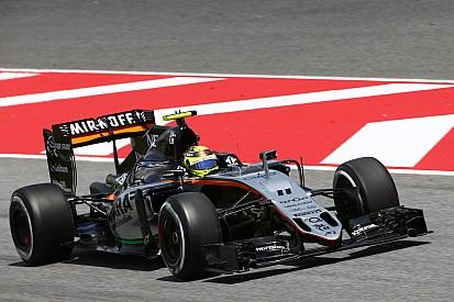 Perez elogia novo pacote aerodinâmico da Force India