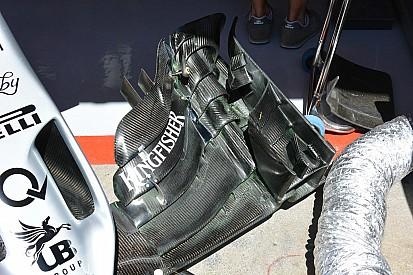 Análise técnica: a nova asa dianteira da Force India