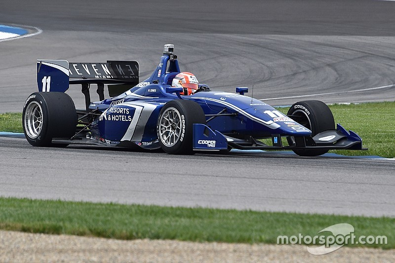 Ed Jones coglie il successo ad Indianapolis