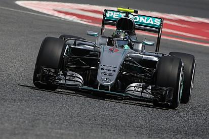 Rosberg comanda último treino livre na Espanha
