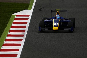GP3 Sıralama turları raporu Barcelona GP3: Hughes takım arkadaşı Jorg'un önünde lider