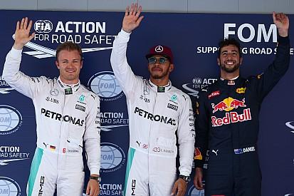 Hamilton faz 3ª pole do ano; brasileiros têm dia horrível