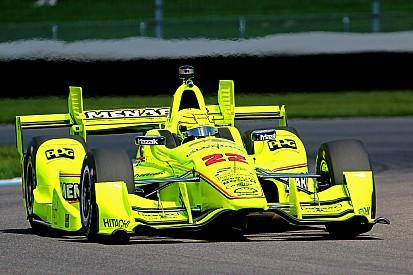 La grille de départ du Grand Prix d'Indianapolis