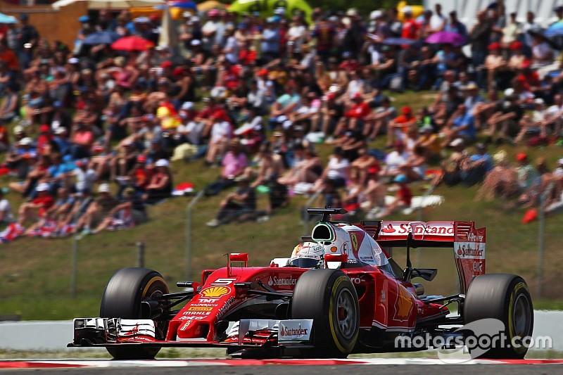 """Vettel: """"Red Bull no es tan fuerte, Ferrari fue débil"""""""
