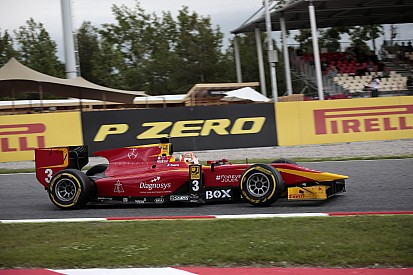 Barcelona GP2: Nato ilk yarışı kazandı, Sirotkin spin attı