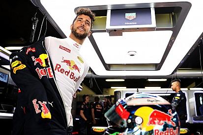 """Ricciardo: """"Estoy contento por estar delante de los dos Ferrari"""""""