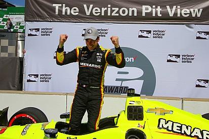 Ad Indianapolis Simon Pagenaud coglie la terza vittoria di fila