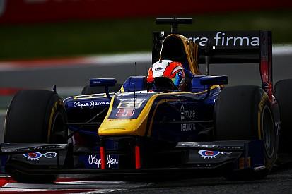 Barcelona GP2: Lynn pakt sprintzege, zware klapper Giovinazzi