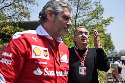 Marchionne renouvelle sa confiance à Arrivabene chez Ferrari