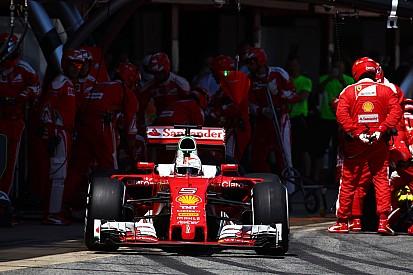 Vettel geeft toe dat driestopstrategie verkeerde keuze was