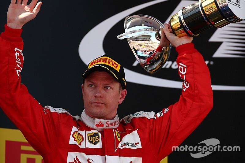 """Mesmo em segundo, Kimi se diz """"desapontado"""" pelo resultado"""