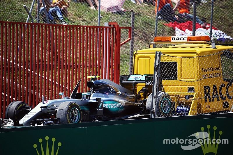 """Rosberg - """"J'ai fermé la porte aussi tôt que possible"""""""