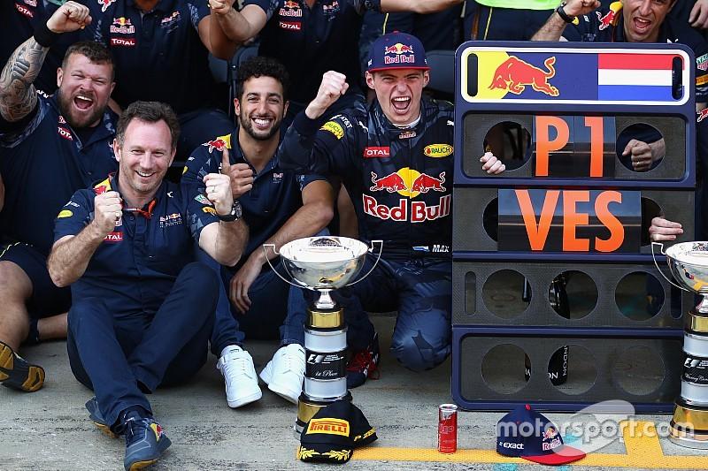 """Horner: """"Overwinning Verstappen fantastisch voor F1 als geheel"""""""