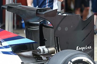 La Williams lancia l'alettone biplano sulla FW38