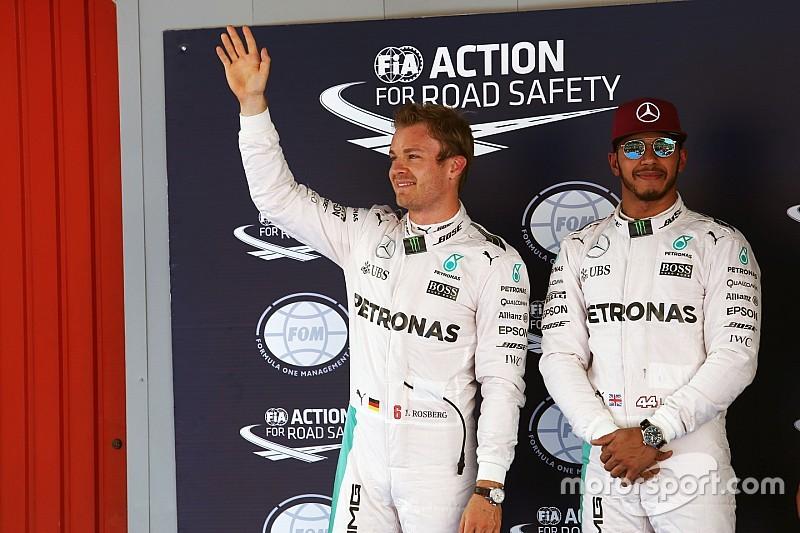 """Hamilton sobre su relación con Rosberg: """"No cambiará nada"""""""
