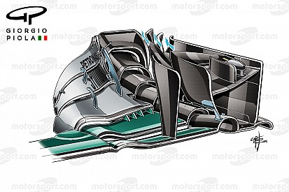 Formel-1-Technik: So viele Neuerungen hatte Mercedes in Barcelona