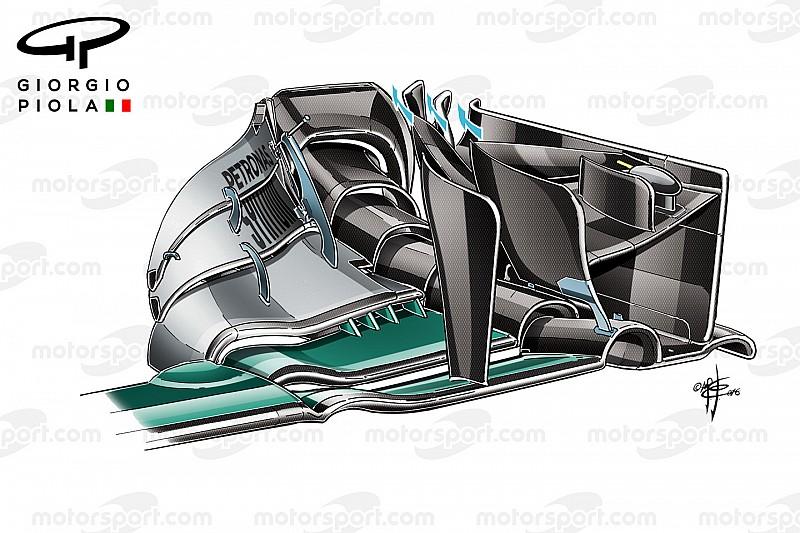 Technique - L'accident Rosberg/Hamilton a caché le potentiel de Mercedes