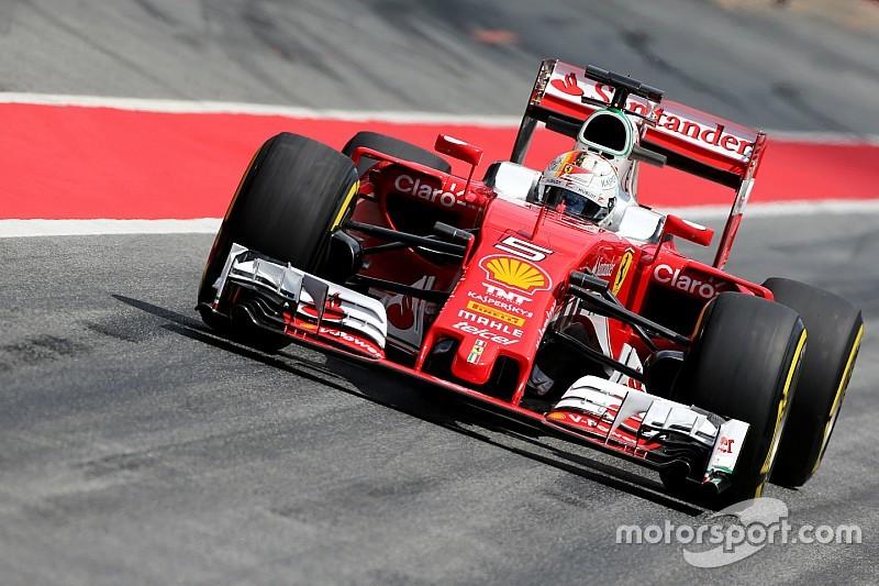 Vettel termina primeiro dia de teste na frente em Barcelona