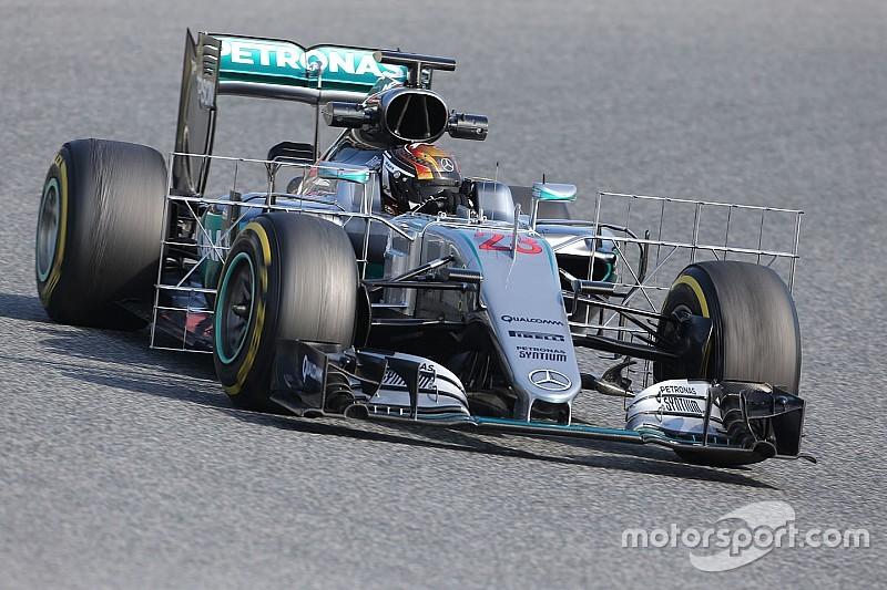 Bildergalerie: Die schönsten Fotos der Formel-1-Tests in Barcelona