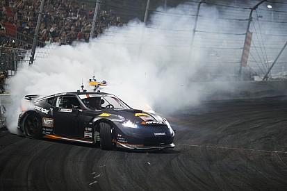 Video: Forsberg maakt ultieme drift in Nissan met 1000 pk
