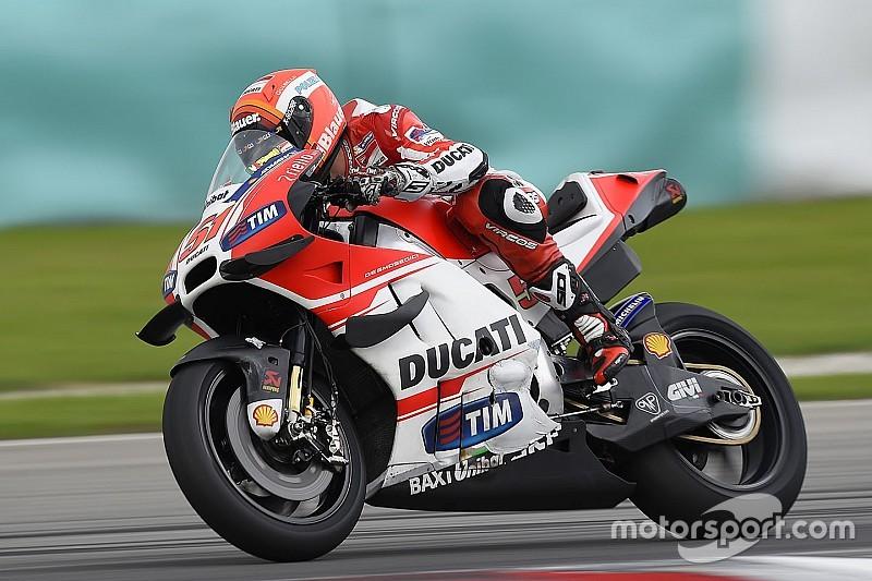 Ducati pondrá una tercera Desmosedici GP en pista con Pirro