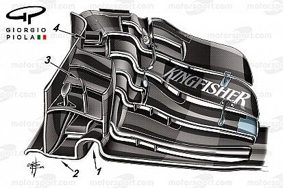 Технический анализ: новое переднее крыло – надежда Force India