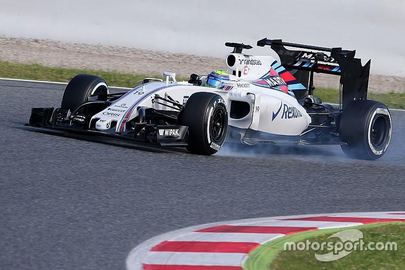 Massa a conclu les tests de Williams pour 2017... et 2016!