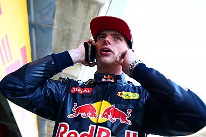 """Verstappen: """"Ho appreso alcune funzioni del volante computer"""""""