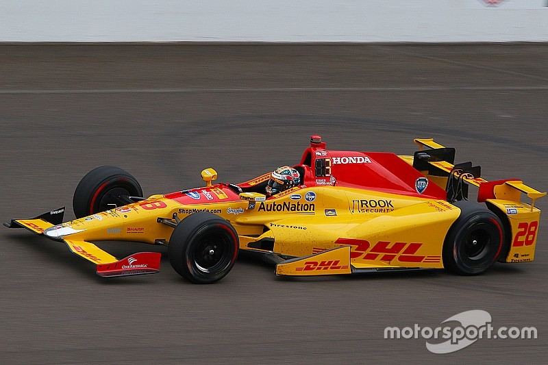 Hunter-Reay le plus rapide d'une séance productive à Indy