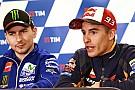 Bodyguards in Mugello für MotoGP-Stars Lorenzo und Marquez