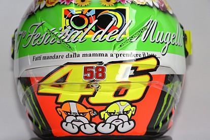 Galería: Valentino y sus cascos en Mugello