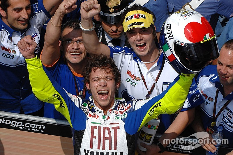 Galeria: os capacetes de Valentino Rossi no GP da Itália