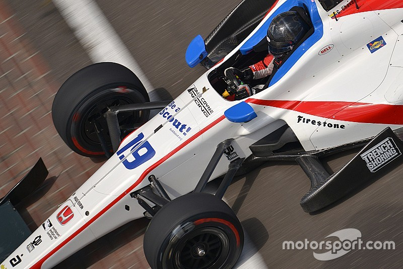 Indy 500: Gabby Chaves mit, Will Power ohne Windschatten schnell