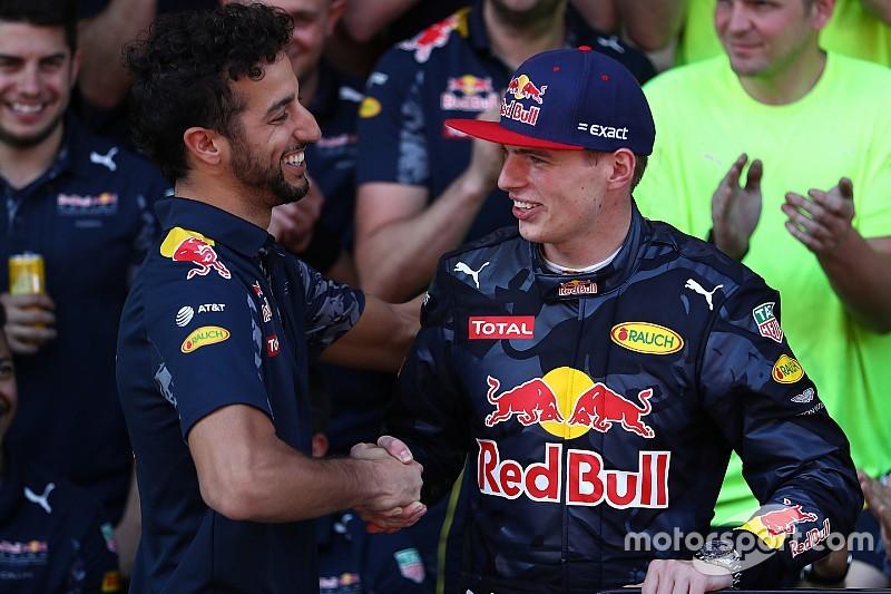 """Ricciardo: """"Komst van Max Verstappen is grote uitdaging"""""""